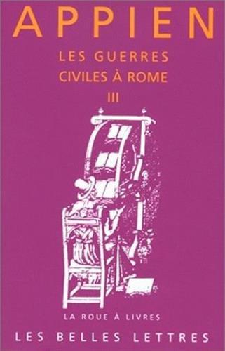 Les Guerres civiles à Rome, tome 3