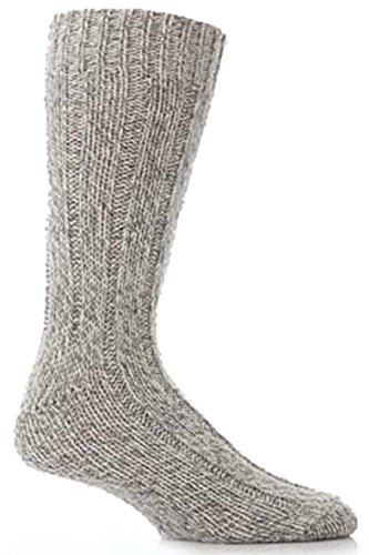 Workforce 2 Paar Herren-Walker Walliser Wandersocken - 11.06 Herren - Grau
