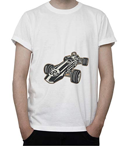 DreamGirl Vintage Formula 1 Car, Bolid. Grand Prix Mens T-Shirt X-Large