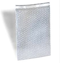 350 8 x 11.5 Clear Bubble Out Bags Protective Wrap Pouches 8x11.5 Self Seal by ValueMailers
