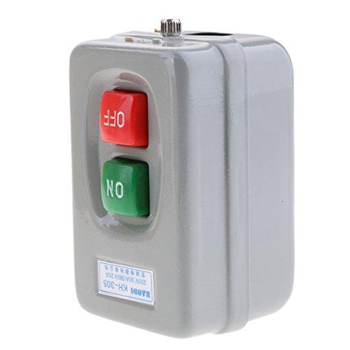 yotijar Caja de Control Fuente de Alimentación KH-305 Interruptor de Encendido Y Apagado Eléctrico Trifásico