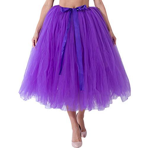 Dtuta Damenmode Eleganten Mesh TüLl Flauschigen Rock Brautjungfer Prinzessin Kleid Blase Schwangere Frauen Rock