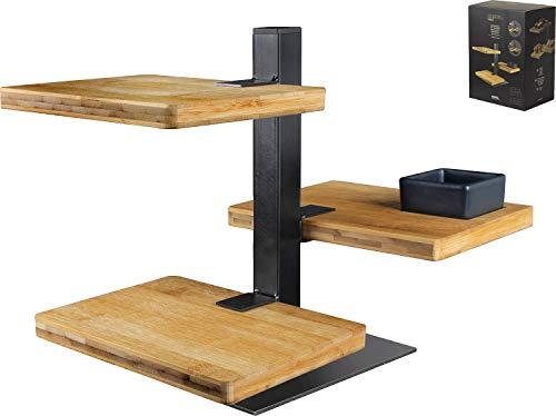 GUSTA 01149280 Servierset, Metall | Holz