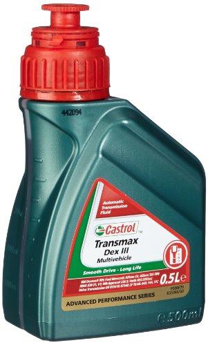 Castrol Aceites Gear y Reductor Aceites transmax Dex III multivehicle Botella de 500ml