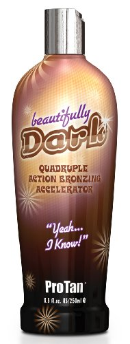 Pro Tan Beautifully Dark Quadruple Action Bronzing Accelerator - 250 ml