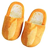 October Elf Adult Autumn Winter Slippers Warm Home Shoes (French baguette, L)…