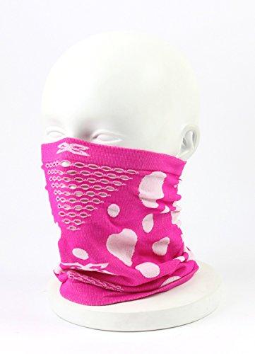 NAROO(ナルー)フェイスマスク「X Band 5 mask」エックスバンド5マスク (ピンク×ホワイト)