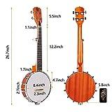 Immagine 2 vangoa mini banjo 5 corde