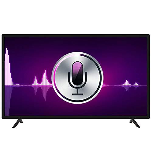 ZZYH Televisor LED Inteligente 4K Full-HD De 43 Pulgadas, Sonido Estéreo, Interfaz Rica, Decodificación De Imágenes HDR, Televisión
