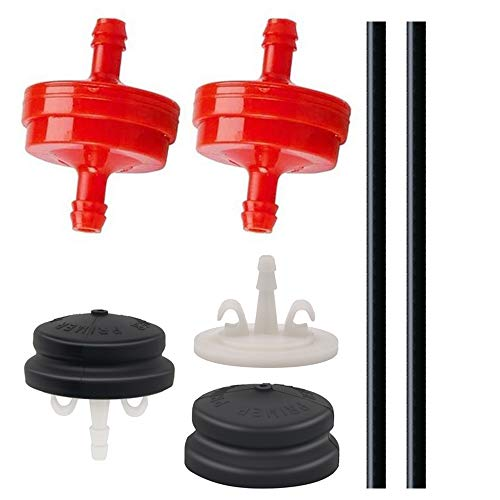 Great Deal! Two Sets of 120-440 Primer Bulbs with 44-2750 Primer Bodies 298090s Fuel Filters Primer ...