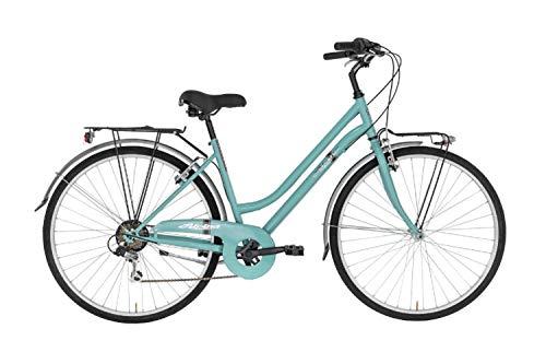 Alpina Bike Moving TRK, Bicicletta Trekking 6v Donna, Acquamarina, 28'