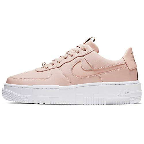Nike Air Force 1 Pixel Womens Casual Fashion Sneaker Ck6649-200, rosa (Particle Beige/Partículas Beige-Negro), 38 EU