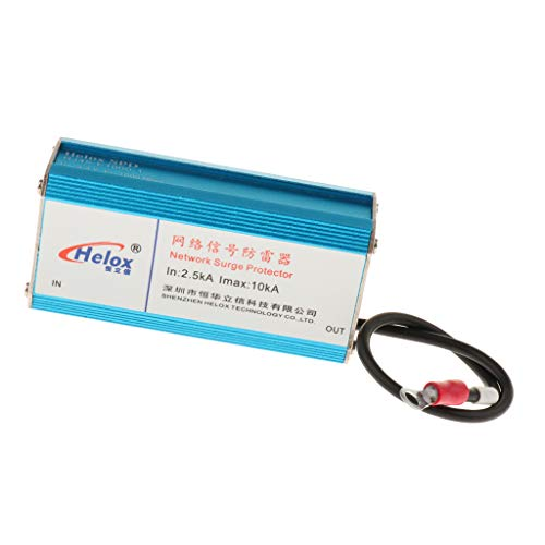 SDENSHI Ethernet RJ45 1000M Surge Protector Network LAN Thunder & Parafulmine