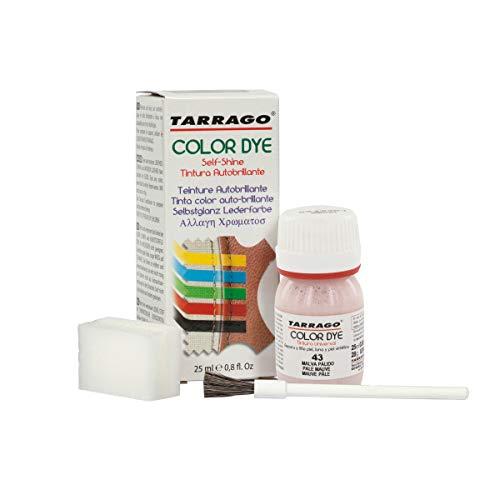 Self Shine Color Dye 25 ml | Tinte para Zapatos y Accesorios Autobrillante | Cubre Rozaduras y Desgastes del Calzado (Malva Pálido (43))