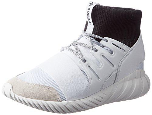 adidas Unisex-Erwachsene Tubular Doom Ausbilder, Weiß (FTWR White/FTWR White/core Black), 40 2/3 EU