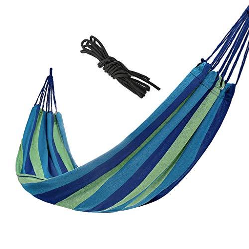 Hamacs, Meubles de Camping Simple Double Convient pour Plusieurs scénarios Léger et Portable Résistant à l'usure et Forte Charge 150 kg (Couleur: Rouge, Taille: 200 * 100 cm) Confortable