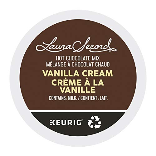 Laura Secord Vanilla Cream Single Serve Keurig Certified Recyclable K-Cup pods for Keurig Brewers, 12 Count