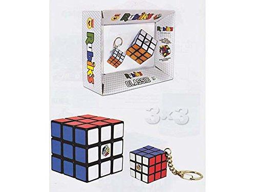 Rubik's - Rubick´s Classic 397233043. Pack Cubo Rubick y Llavero.