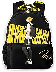 XCNGG My H-e-ro Ac-ad-em-ia Mochila Kaminari Denki Chargezuma Boku No Hero Daypack Bookbag