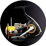 Spinning-Rollen Angelrolle Angelrolle Spinnspule Hat EIN Magnetisches Bremssystem Starke Korrosionsbeständigkeit Metall Meerwasser Köder Spule Geschenk (Color : Yellow, Size : 3000)