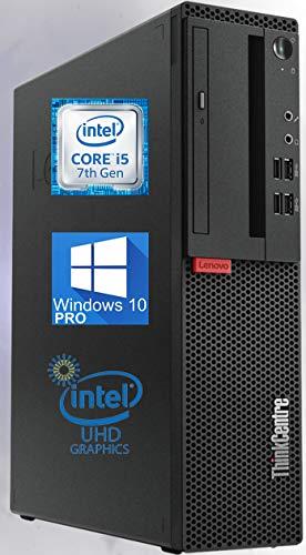 Lenovo ThinkCentre M710 SFF Desktop PC, Intel i5-7500 Upto 3.8 GHz, 8GB RAM 2TB SSD, 4K HD Graphics 630, DVD-RW, DisplayPort, HDMI, AC Wi-Fi, Bluetooth – Windows 10 Pro (RENEWED)