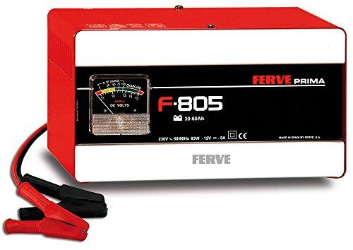 FERVE F-805 Cargador de Baterías de Plomo Ácido