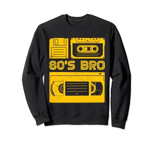 80's Bro Retro Vintage Floppy Diskette 80er Kassette Sweatshirt
