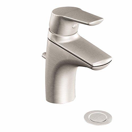 Moen 6810BN Method One-Handle Single Hole Bathroom Sink Faucet