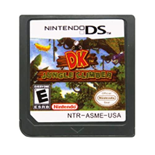 White Poplar Zchunrong DS - Tarjeta de consola de cartuchos de juego Diddy Kong Racing DK Jungle Climber idioma Inglés para Nintendo DS 3DS 2DS CC (color: DK Jungle Climber US)