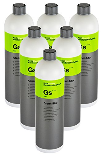 Koch Chemie 6X GS Green Star Universalreiniger Universal Reiniger Pflege 1 Liter