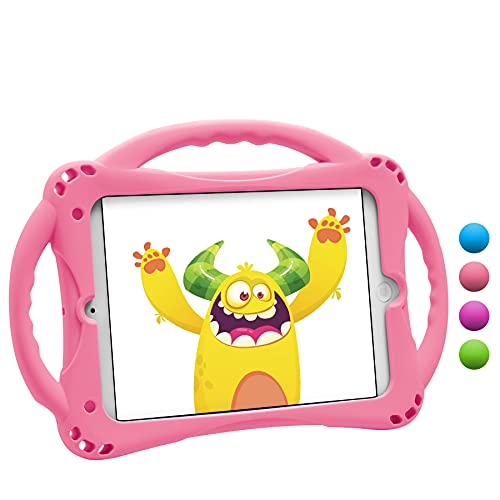 [New Design]TopEsct iPad Mini Case Kids Shockproof Handle Stand Cover for...