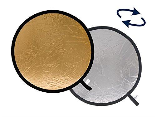Lastolite LLLR3034 - Reflector de 77 cm, Plata/Oro