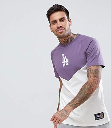 MLB Majestic LA Dodgers Chevron T-Shirt XL violett
