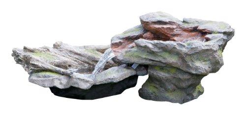 Primrose Gartenbrunnen Kaskadenbrunnen Wasserfall Felsen