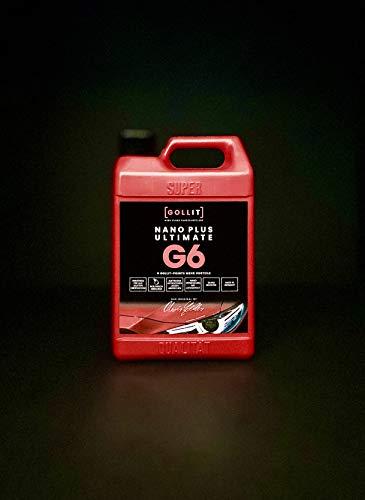GOLLIT Nano Plus Ultimate 1000 ml Nanoversiegelung für Auto, Boot und Caravan, Lotuseffekt, Autopflege, Lackversiegelung mit Nanotechnologie