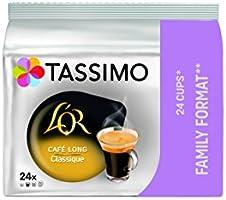 Tassimo Café Dosettes - 120 boissons L'Or Long Classique (lot de 5 x 24 boissons)