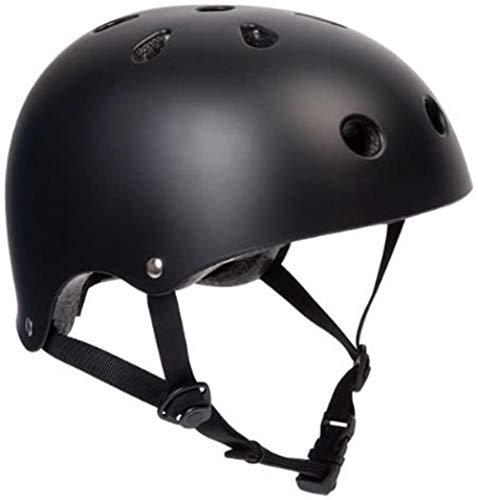 Woodtree Matt Negro Bicicleta/monopatín Talla de Casco Título: Pequeño: 53 El centímetro...