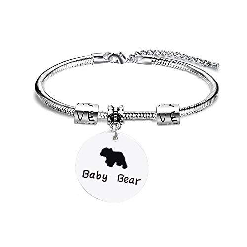 lffopt Bracelet for Mum Mum Bracelets Presents for Mum Mum and Daughter Bracelet Gifts for Mum On Her Birthday Mam Bracelet Mother and Daughter Bracelets Baby