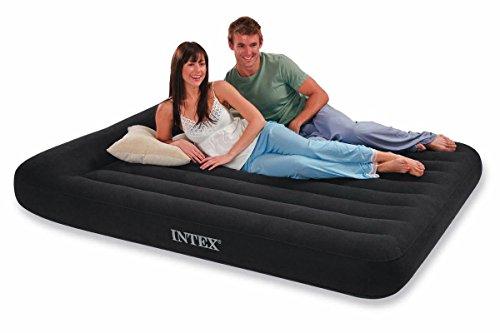 Intex - Matelas lit Gonflable électrique Pillow Rest - 1 Place
