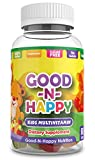Good-N-Happy Kids Multivitamin Gummies with Vitamin C and Zinc for Immunity, Gluten Free, Biotin, B6 & B12 for Energy - 60 Count (30 Day Supply)