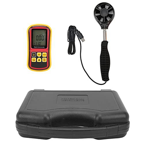 EVTSCAN 8901+ Misuratore di velocità del vento digitale con anemometro con schermo LCD ad alta precisione e sensibilità per il test del vento