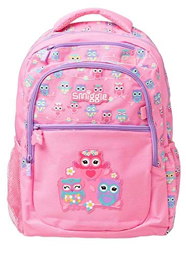 Smiggle Backpack from Our Deja Vu Collection is Perfect for School, Sport & Other Activities! (Light Pink)