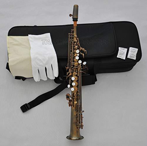 FidgetGear Prof. Antieke Sopranino JINBAO Saxofoon Eb Sax Low B naar hoge F# met case