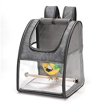 Sac à dos de transport respirant pour oiseaux, perroquet, chat, lapin