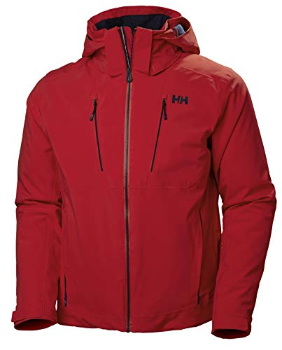 Helly Hansen Herren Alpha 3.0 Jacke, Alert Red, L