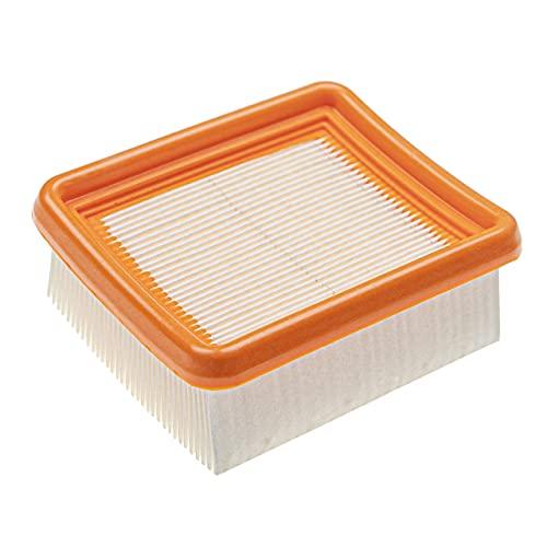 vhbw Filtro reemplaza Hilti 7613023611639 para radial, esmeril - 1x filtro principal, naranja/blanco