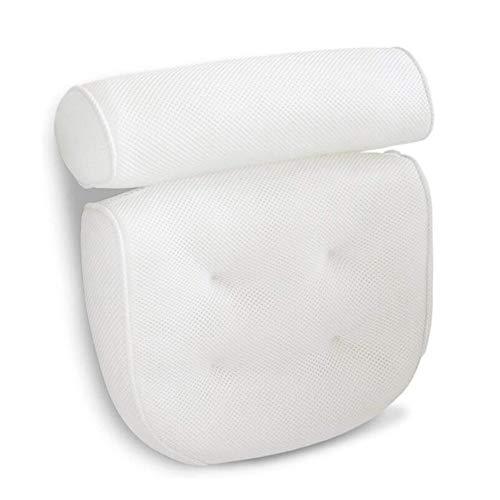 ZLASS Badezimmerkissen, Nacken-, Schulter- und Rückenstützen mit Saugköpfen, Kissen zum Entspannen im Badezimmer, geeignet für Jede Badewanne