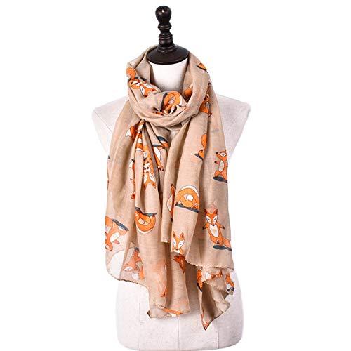UNJ Imprimir Chal Gasa para Mujer Bufandas Bufanda Abrigo Grande para Damas,FS603 2,180CM X90CM