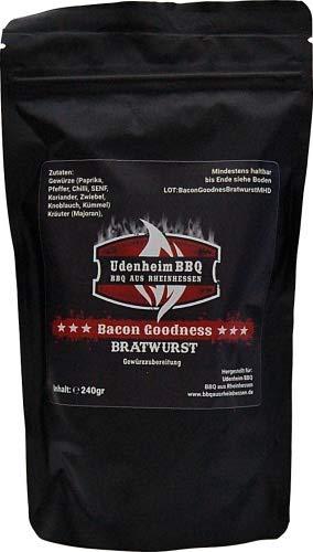 Bacon Goodness Bratwurst, Gewürzzubereitung Bratwurstgewürz 240g