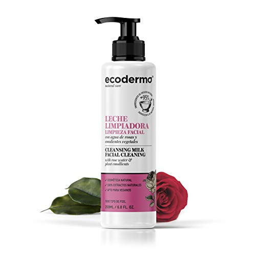 Ecoderma Cleansing Milk 200ml - Cleanses And Removes Make-Up